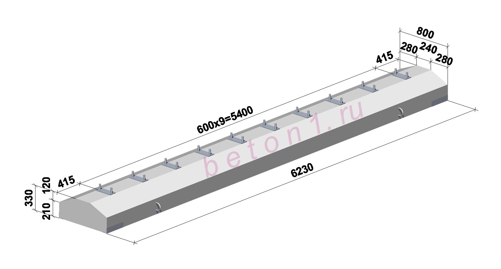 РД 504800750305 Устройство надземных крановых путей