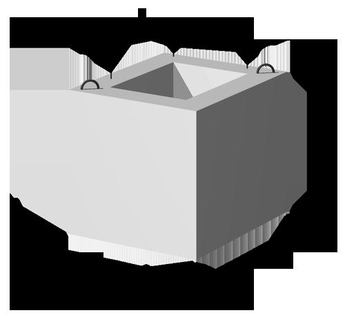 Фундаменты сборные железобетонные для колонн  СМФ-80 выпуск 1