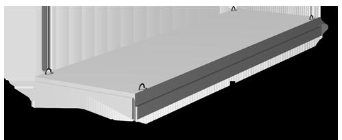 Плиты покрытия 1,5 х 6 м 1.465.1-7/84 выпуск 1