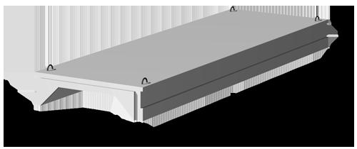 Плиты перекрытий многоэтажных промышленных зданий 1.442.1-2/87