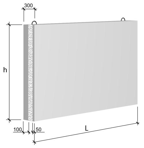 Трехслойные стеновые панели