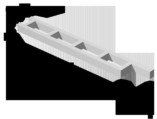 Колонны для открытых крановых эстакад