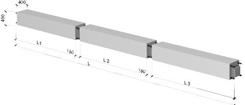Колонны верхние для зданий без техподполья
