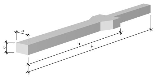 Колонны одноэтажных промышленных зданий  оборудованные кранами